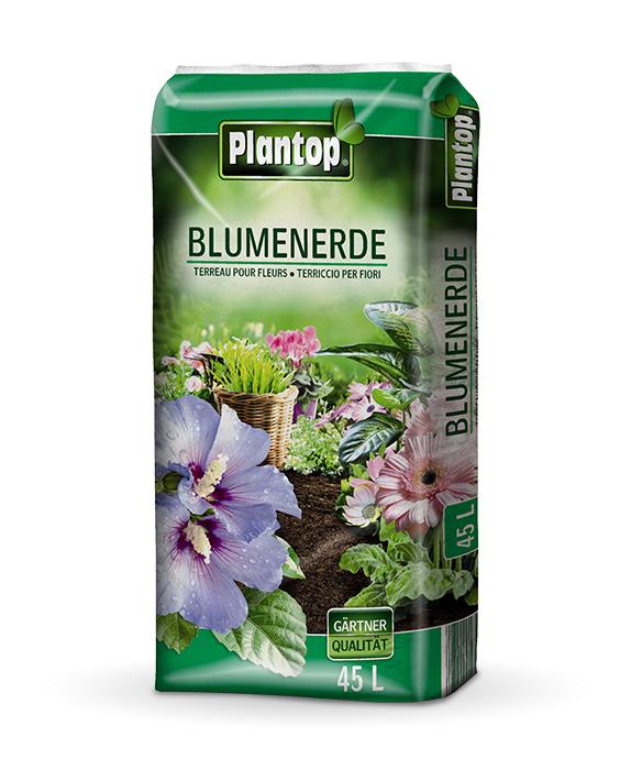 Sack Blumenerde Plantop